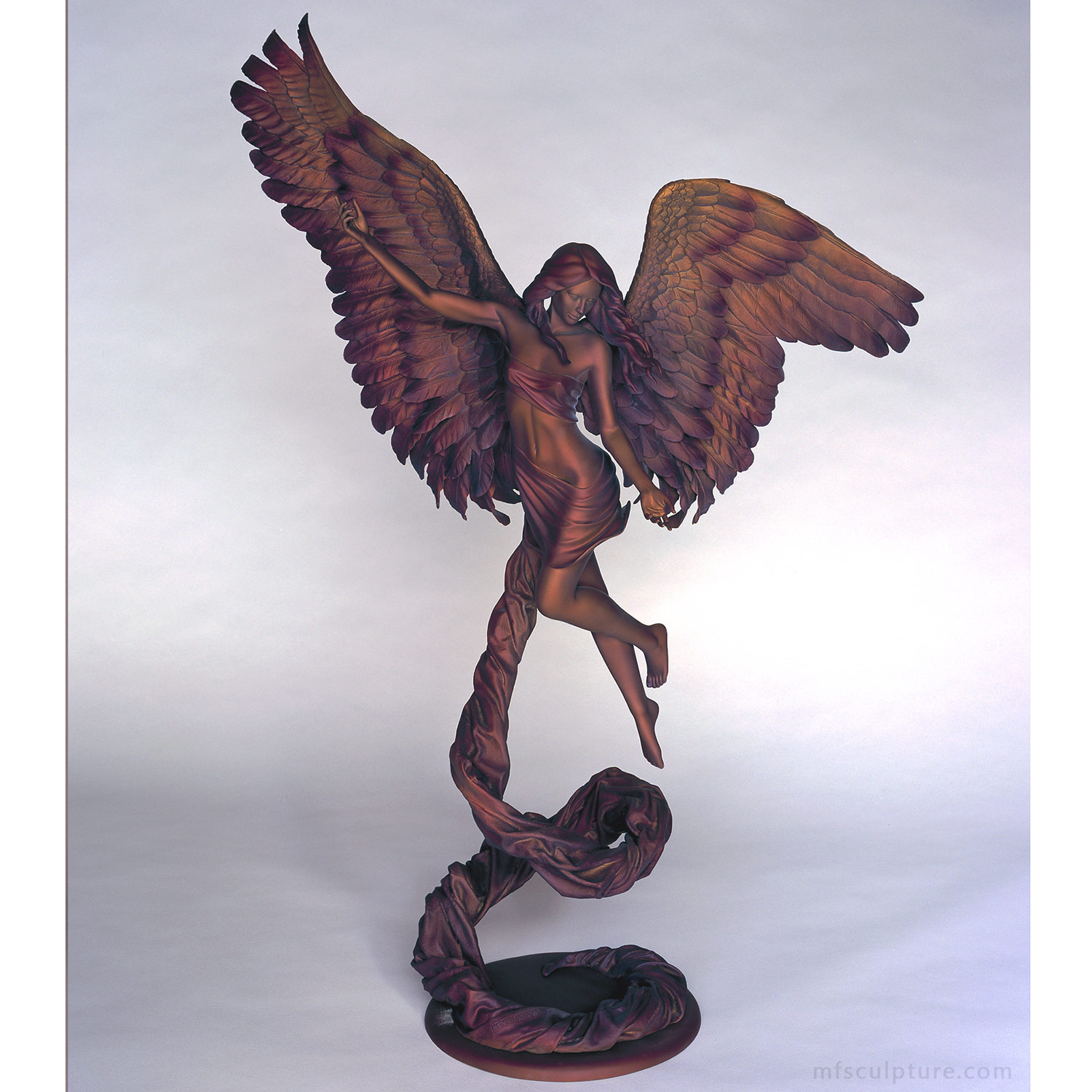 Angel Sculpture Revelation Bronze
