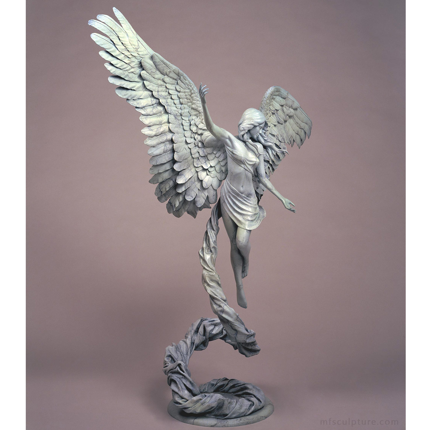 Angel Statue Revelation Bronze