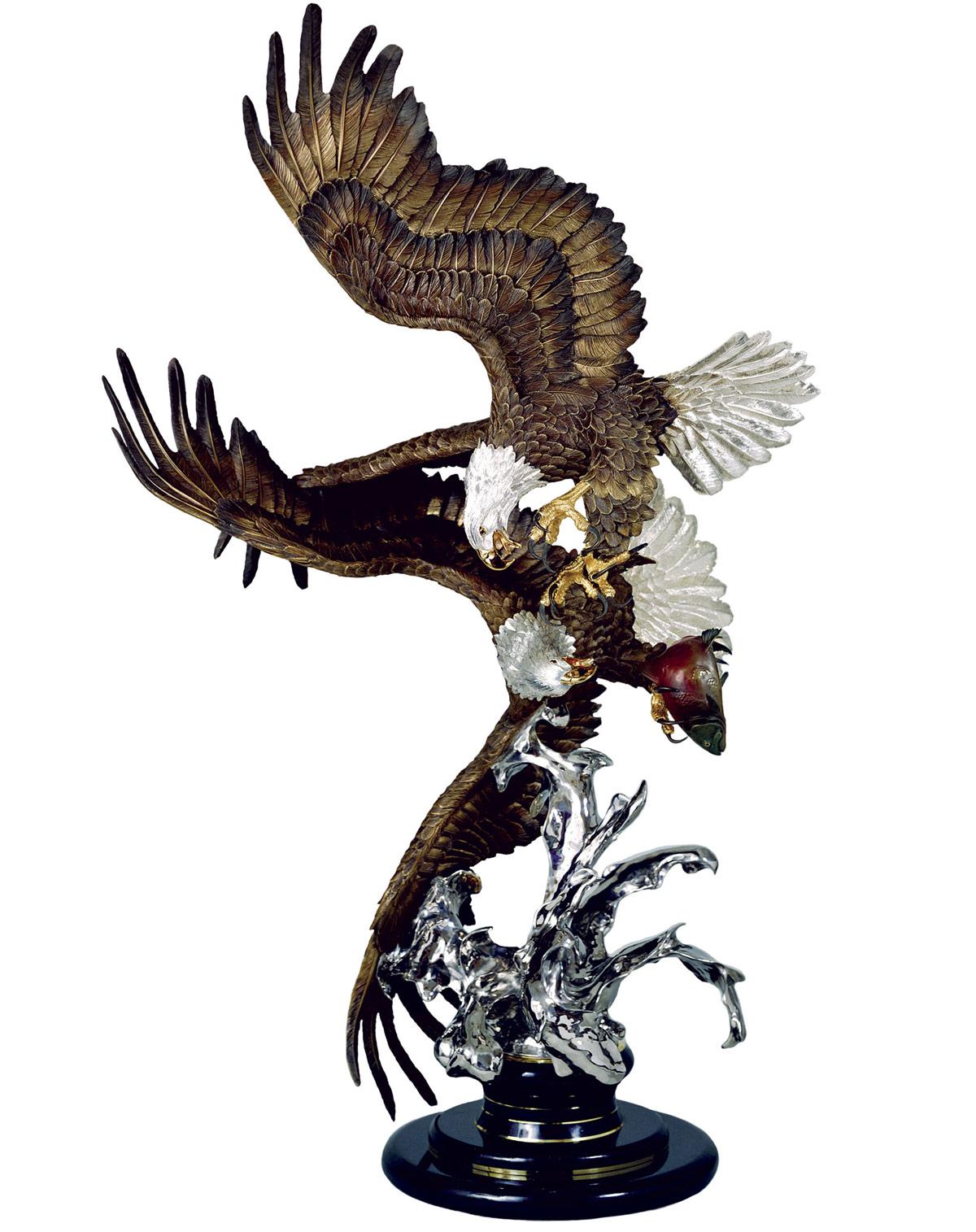 Bald Eagle Sculpture Where Eagles Dare