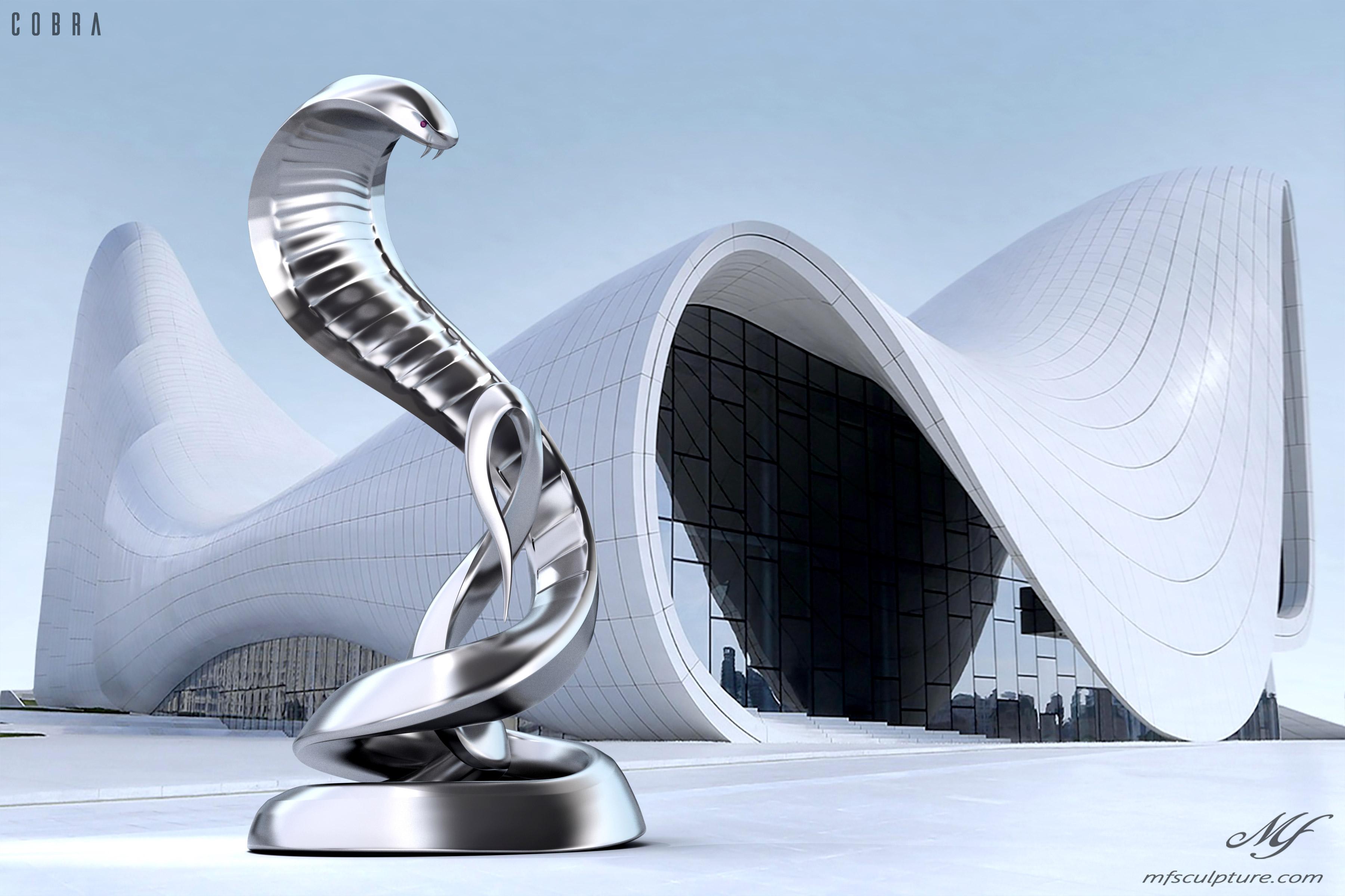 Heydar Aliyev Zaha Hadid Modern Sculpture Cobra2 2