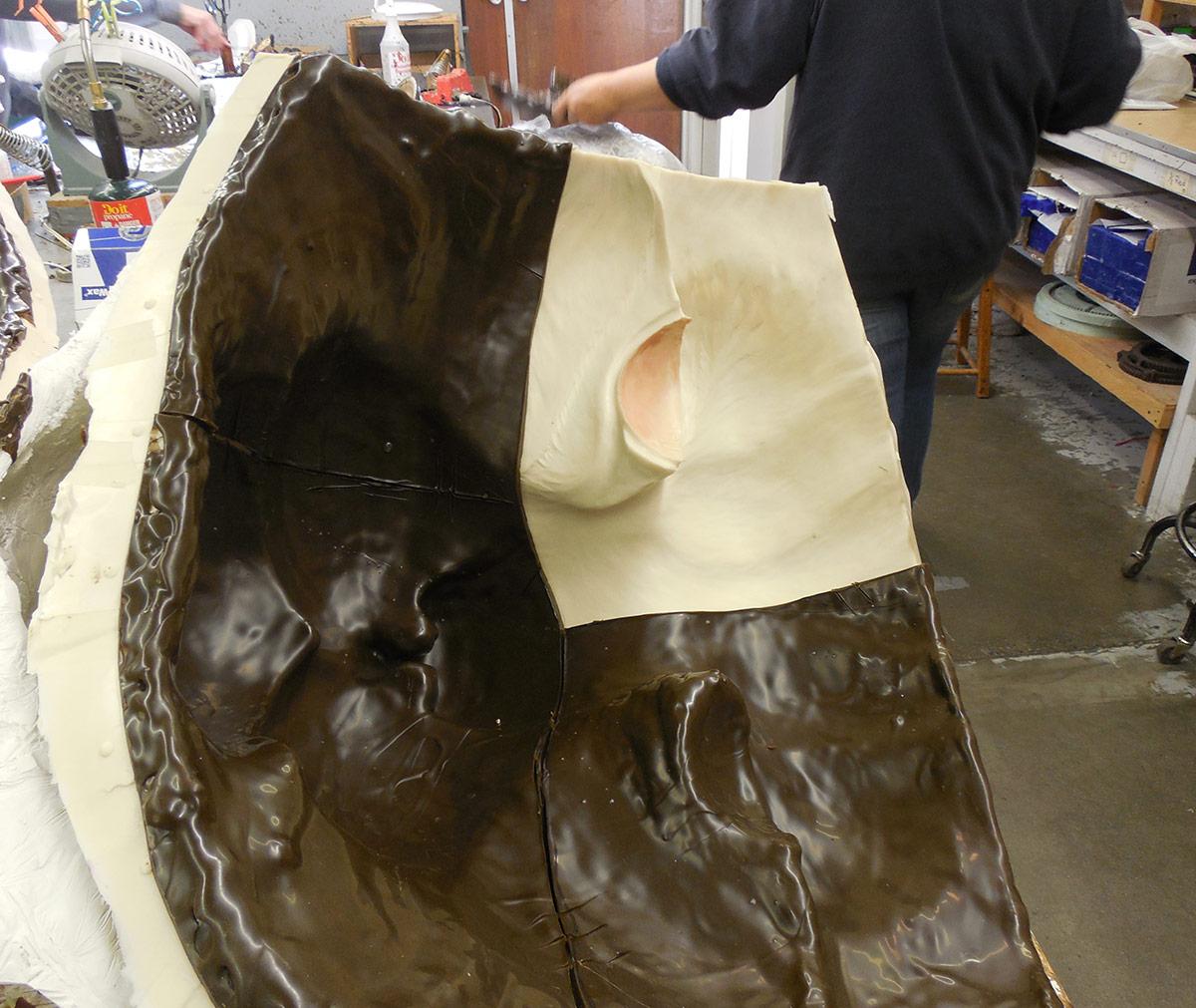 JWU University Wildcat CNC Mascto Lost Wax Investment Casting Bobcat 4