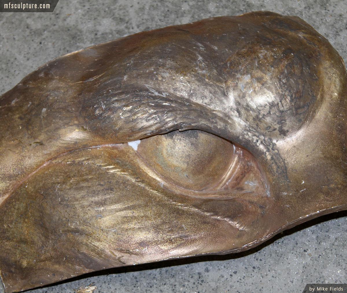 JWU University Wildcat Mascot Lost Wax Investment Casting Bobcat Monument 14