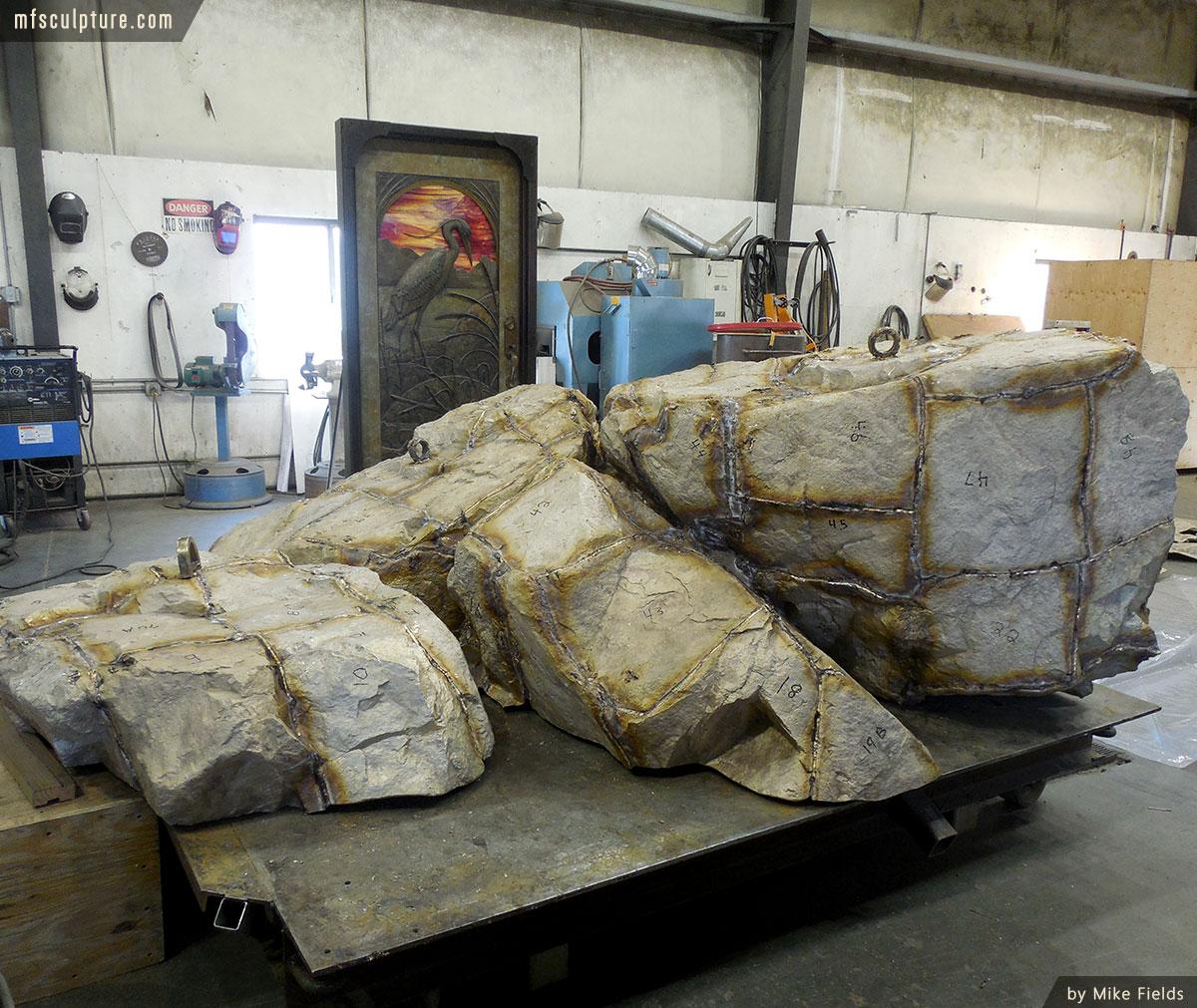 JWU University Wildcat Mascot Lost Wax Investment Casting Bobcat Monument 6