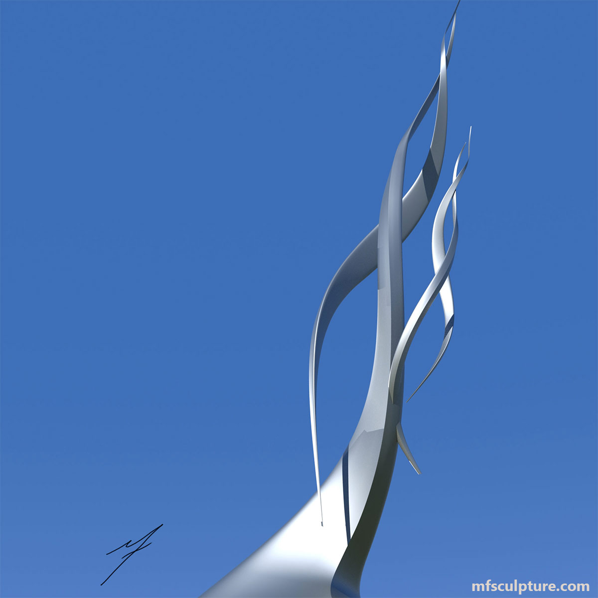 Modern Sculpture Public Art Statue Chromosome 2