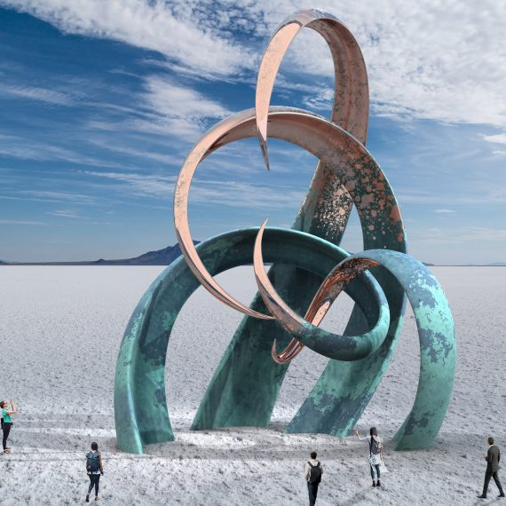 Salt Flats Contemporary Sculpture Attraction 10