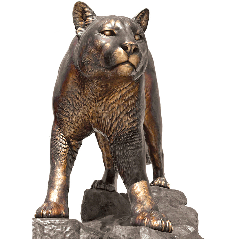 WSU Mascot Washington State University Cougar Sculpture Large
