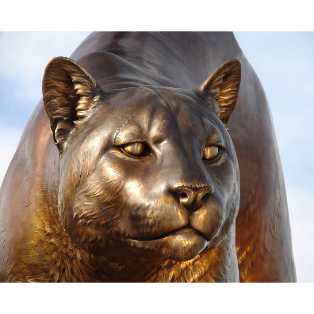 WSU University Mascot Sculpture