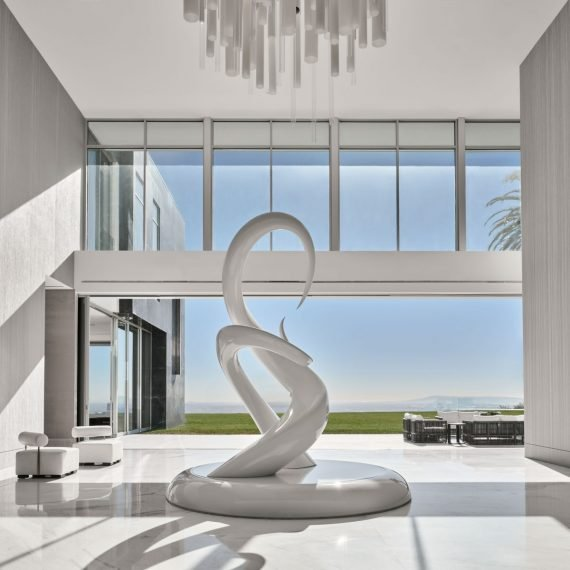 Architectural Digest The One Priciest Home Mike Fields Unity Sculpture