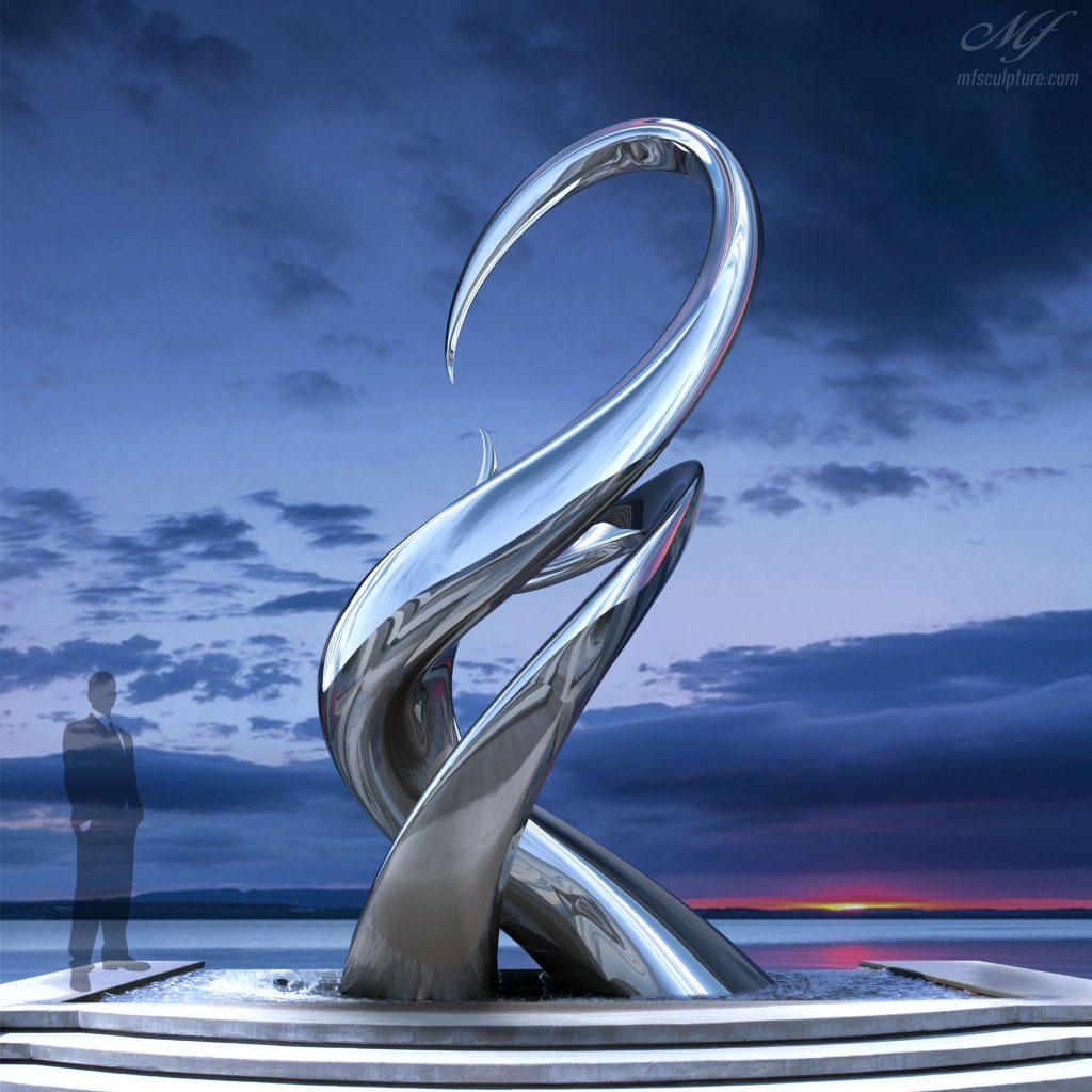 Unity Contemporary Sculpture Mike Fields Artist Monument Famous