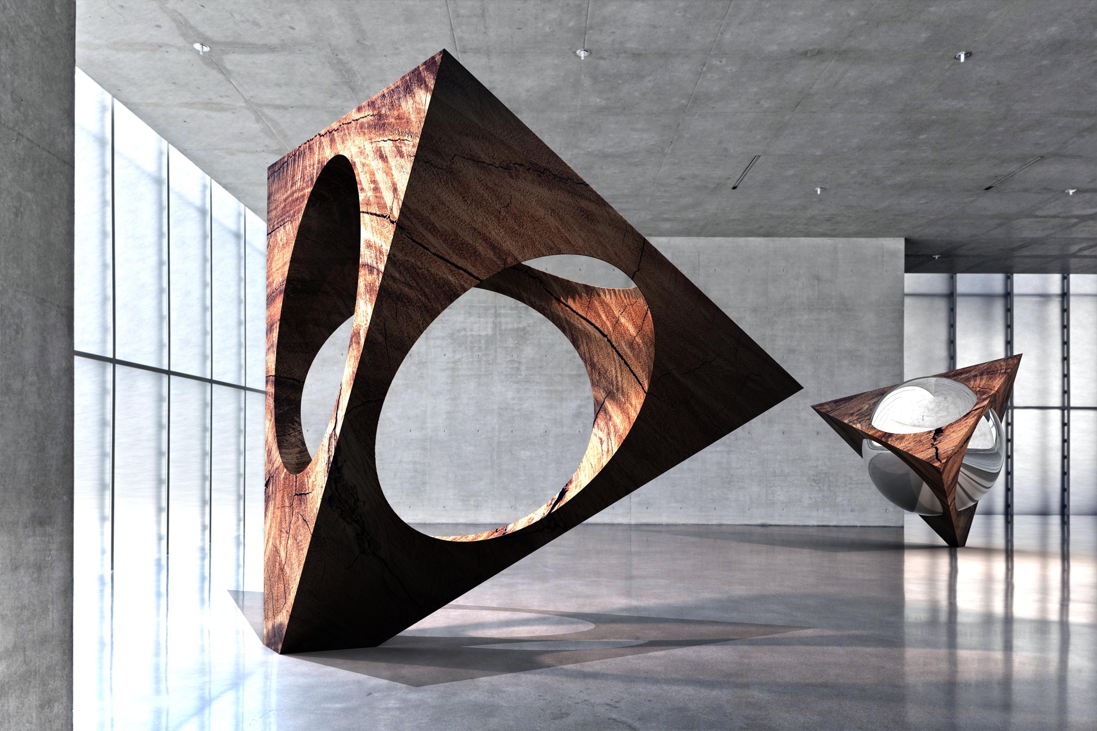 Contemporary Sculpture KUB Architecture Kunsthaus Bregenz Tetrasphere