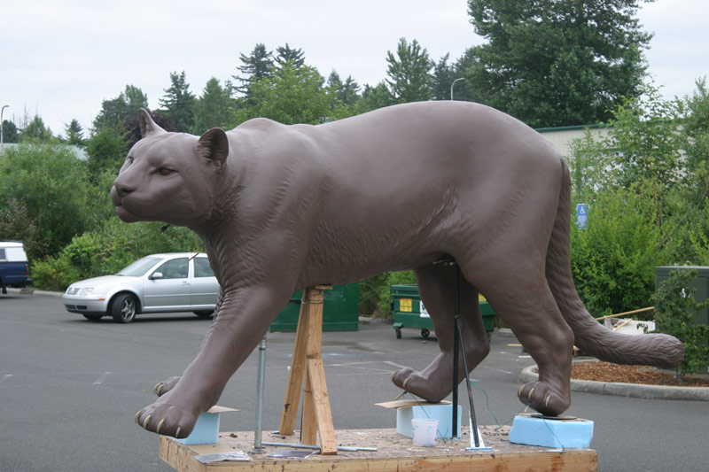 Clay Work Cougar Mike Fields WSU 3
