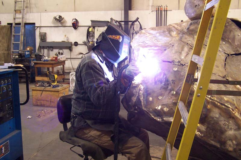WSU Casting Fabrication Welding 2