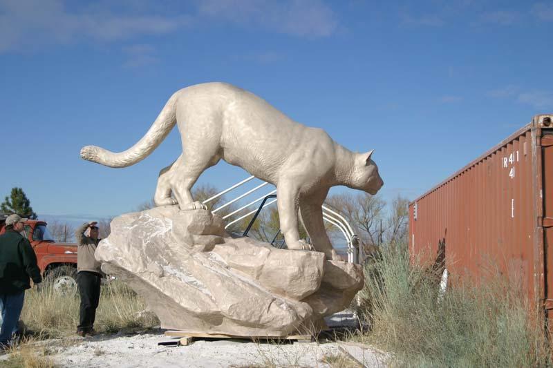 WSU Sandblasting Monument 4