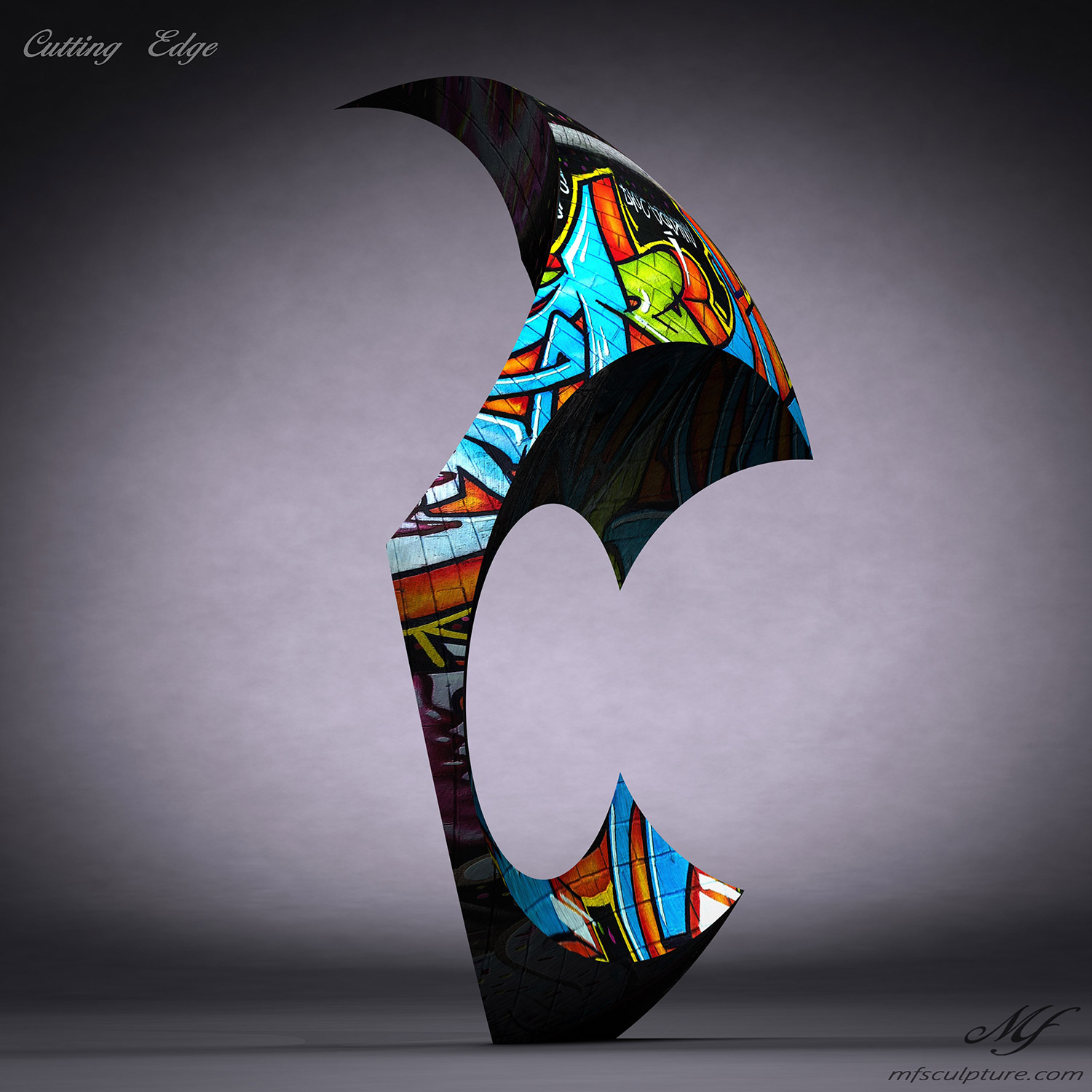 Abstract Cutting Edge Contemporary Sculpture 3