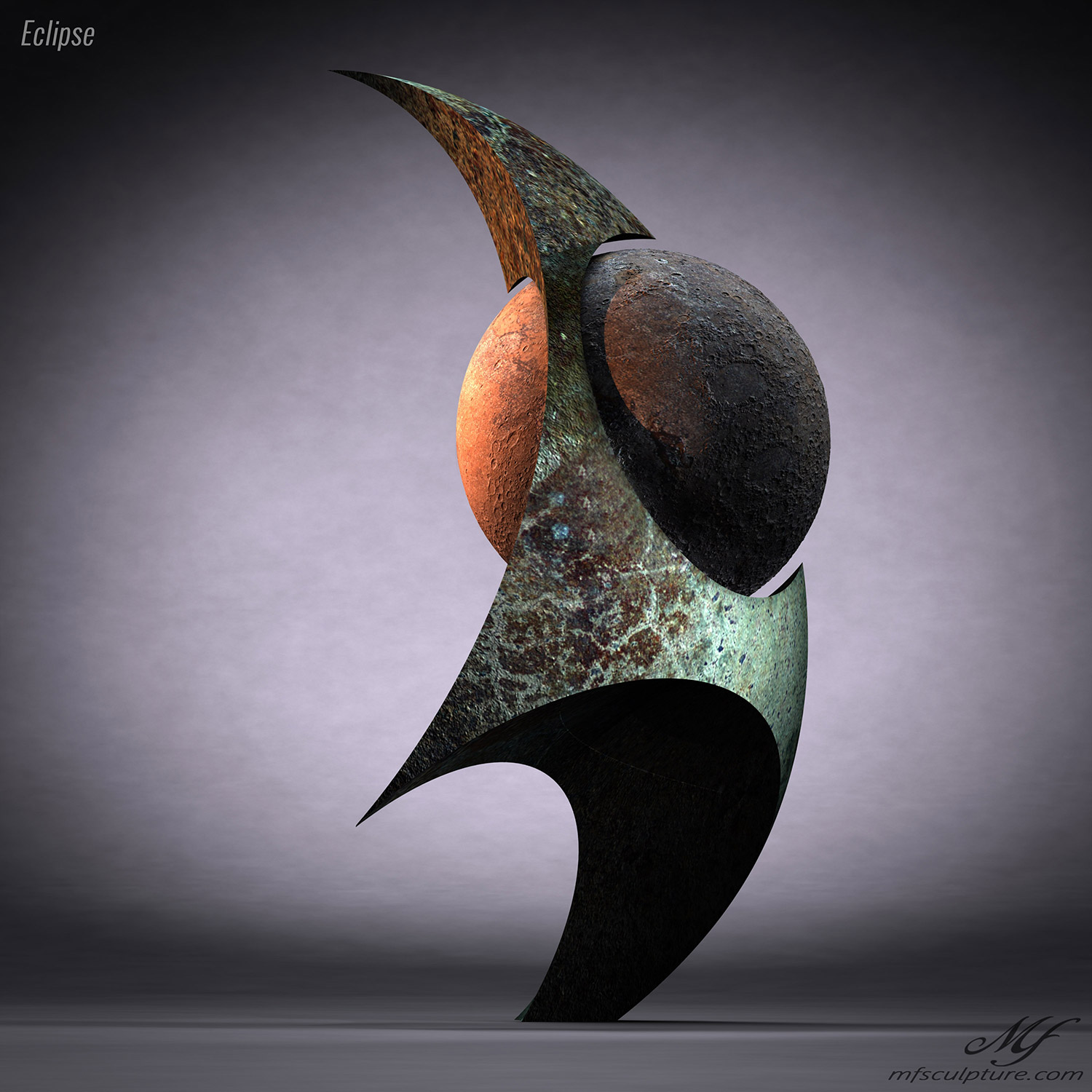 Eclipse Contemporary Sculpture Mike Fields Science 3