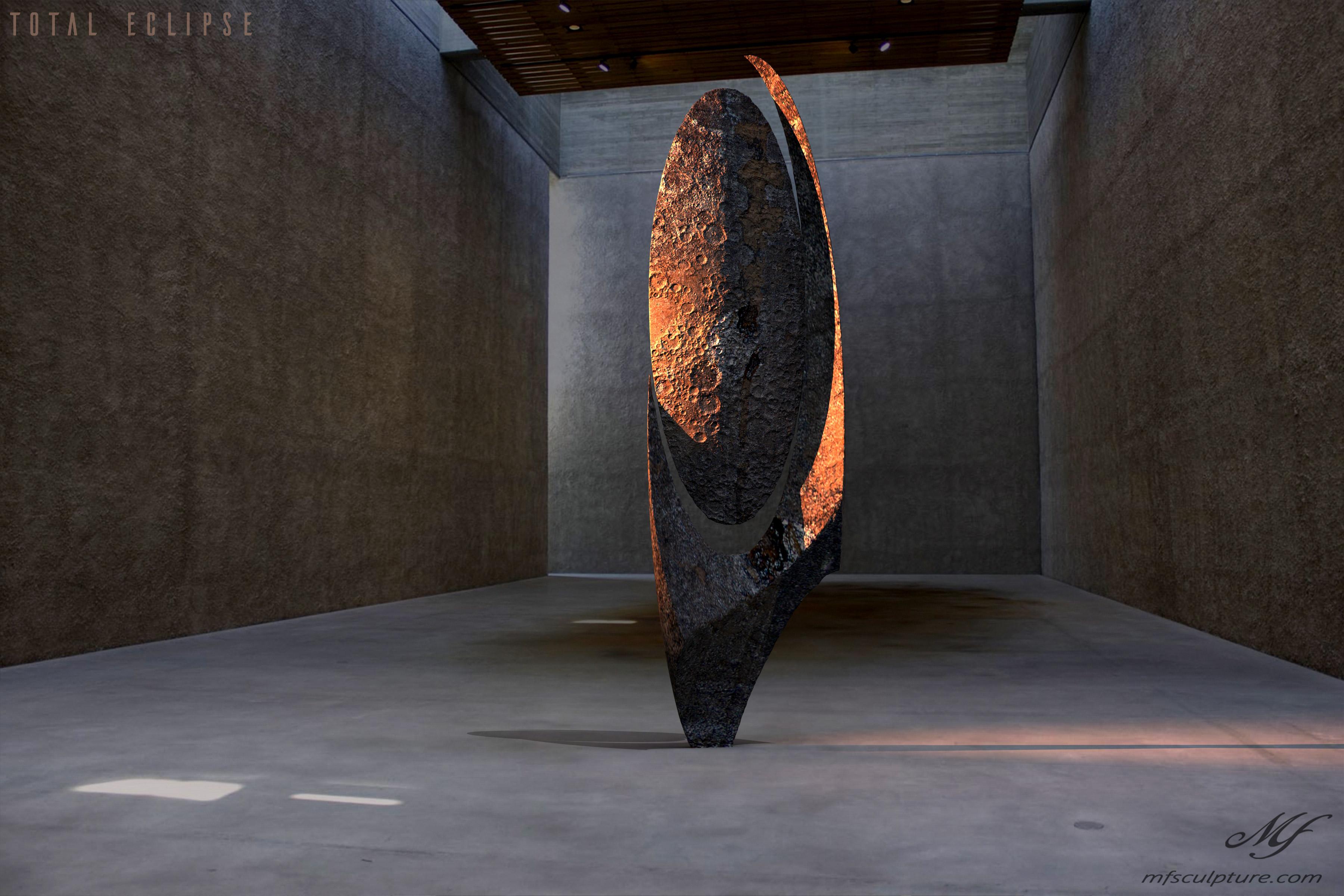 Konig Galerie Koenig Gallery Contemporary Sculpture Art Total Eclipse Moon 2