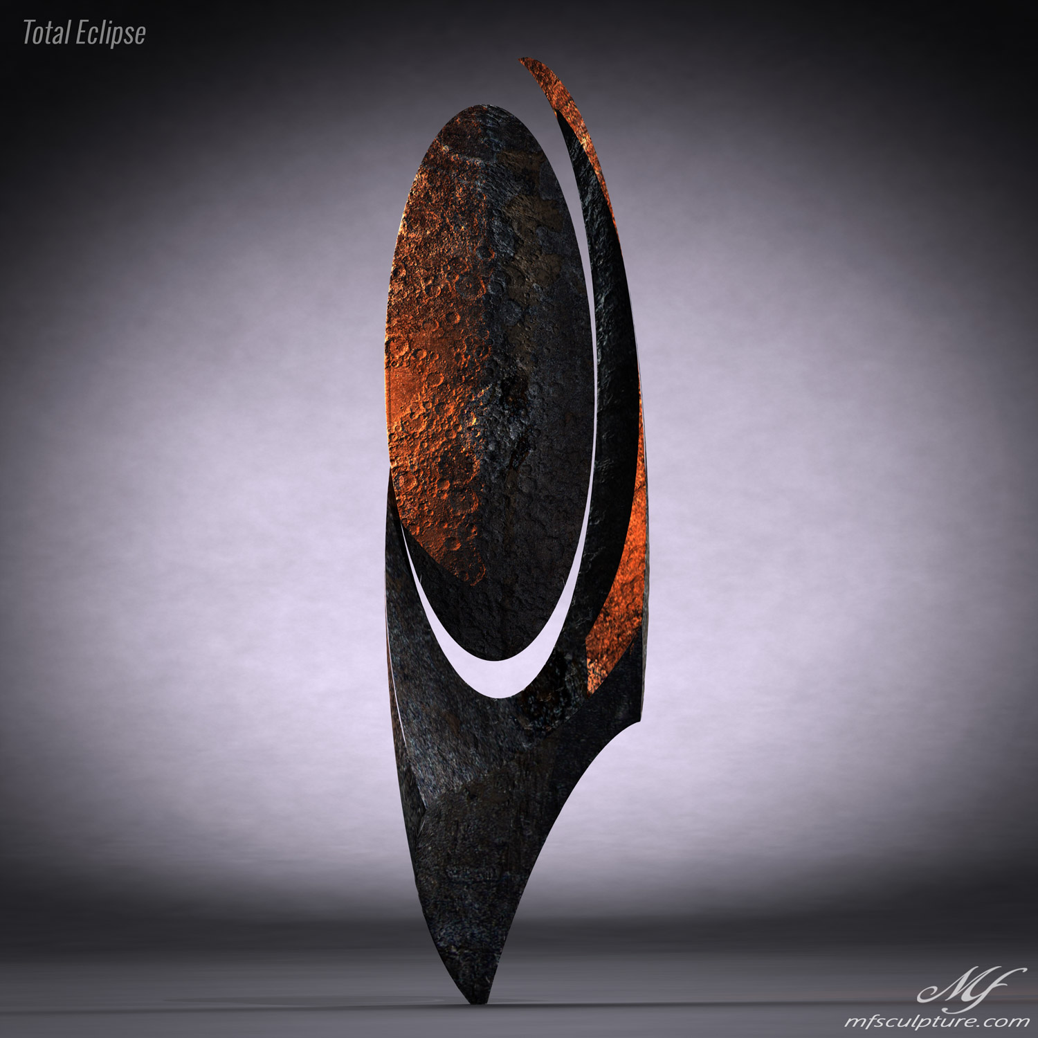 Total Eclipse Contemporary Sculpture Science Mike Fields 2 1